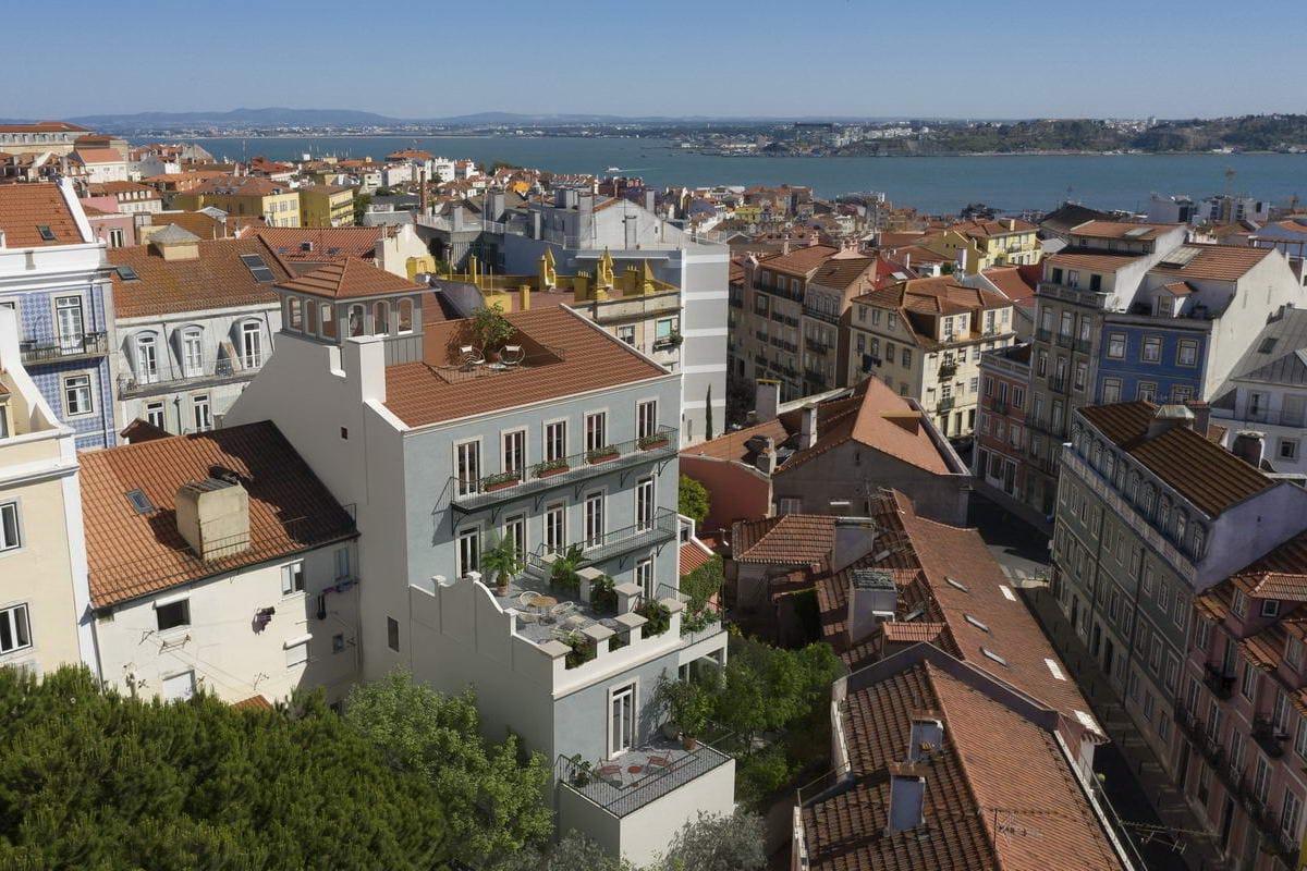 Birdview of Rua do Jasmim 11